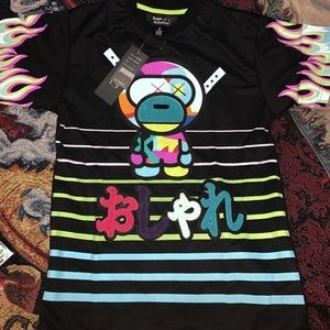 Space Monkey Tee by Rage of a Rebellion,Lg NWT🔥🔥